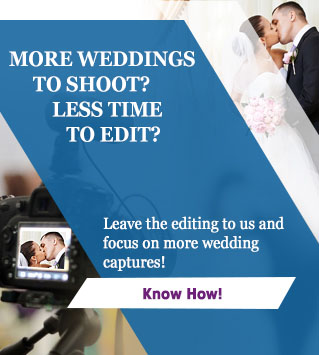 Wedding Video Editing Ad Banner